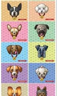 Dog Postcard Best Friends
