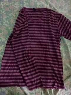 GAP Purple Stripes Shirt