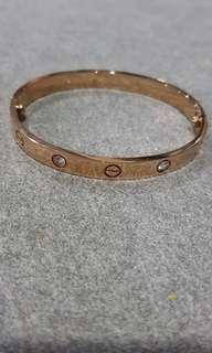 Cartier inspired bracelet