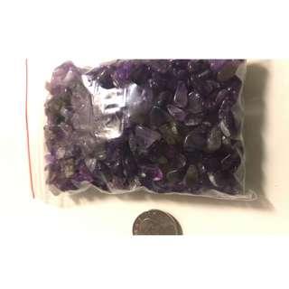 紫水晶碎石 一包