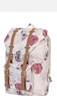 brand new Authentic herschel floral