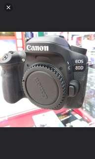 Kredit camera canon eos 80d tanpa cc