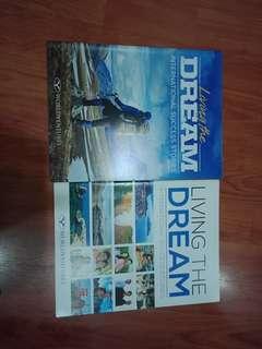 Worldventures Living the dream magazine (vol 1 & 2)