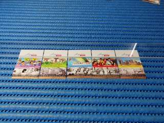 2X Singapore 48th Years of Independence 1965-2013 Commemorative Stamp Issue
