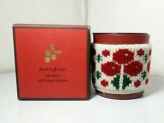 Innisfree Red Berry Perfumed Candle