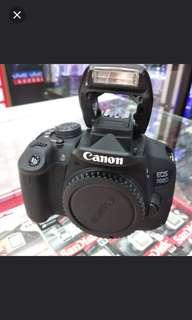 Canon eos 700D bisa dicicil tanpa kartu kredit