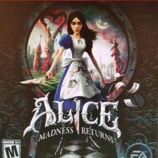Ps3 Alice madness