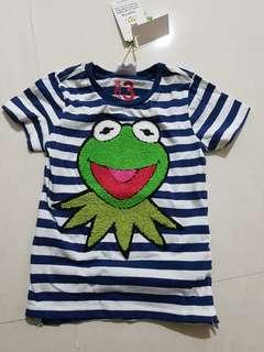 Boy Tshirt (Kermit the frog)