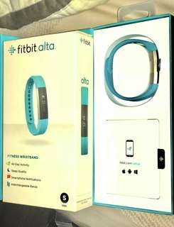 Fitbit Alta (Sky Blue) - Used Once