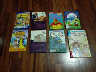 Children's English books - Ladybird/ robin