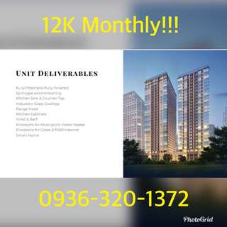 NO DOWNPAYMENT 12K monthly Rent to own pre selling condo in Ortigas near Ayala Taguig BGC makati pasay mandaluyong