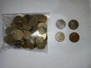 Old coins x 104