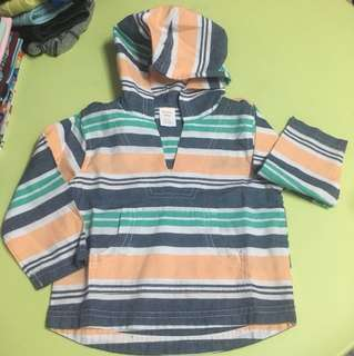 Gymboree hooded LS