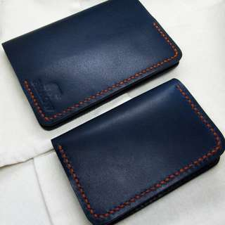 Handcrafted Premium Full Grain Leather Passport Cover & Card Holder | Handstitched | Handmade