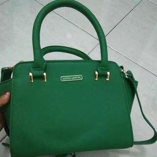 Hand Bag Alexia Lenore Green