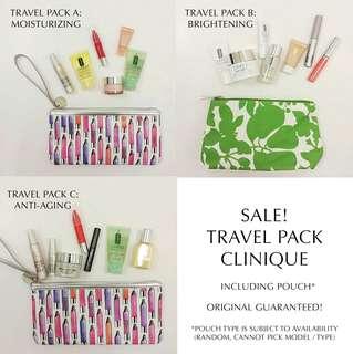 PRE-ORDER : PROMO Clinique Travel Pack