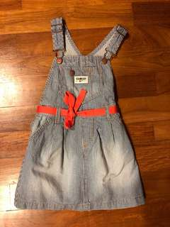 OshKosh B'gosh Overall Denim Dress