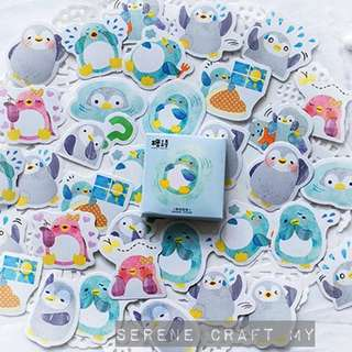 Set of 45pcs Chubby Penguin Sticker Pack