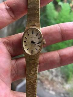 Longines Authentic Vintage Hand Winding Gold Dress Watch