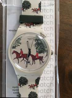 Swatch watch Red Jacket Rare Collection