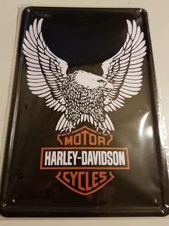 Brand New Harley Davidson Metal Sign