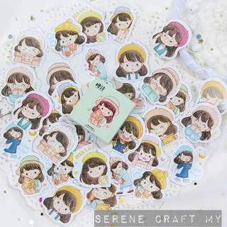 Set of 45pcs Young & Lovely Girl Sticker Pack