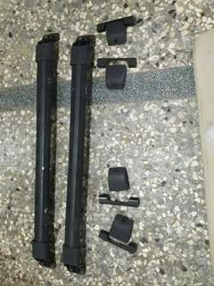 Xtail舊型休旅車Nissan原廠車頂固定橫柱