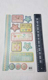 Scrapbook sticker