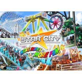 Star City Ticket Ride All You Can