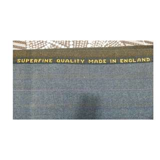Terylene 45% wool worsted Fabric Made in England