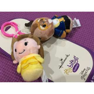 Disney Beauty and the Beast itty bittys Clippys