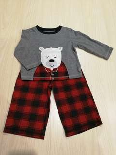 Preloved Carter's boys PJ's (18mths)