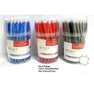 Faber Castell Click X Ball Pen