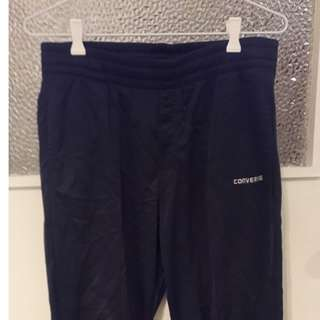Converse track pants navy blue