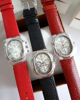 PHILIP STEIN 22-FGR Classic Chronograph Ladies Watch BRAND NEW Authentic!