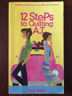 Pocketbook: 12 Steps to Quitting AJ