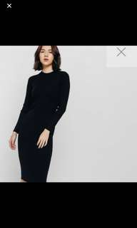 Love Bonito Miranley Button Knit Dress