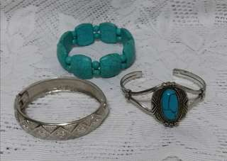 Clearance - 3 bracelets