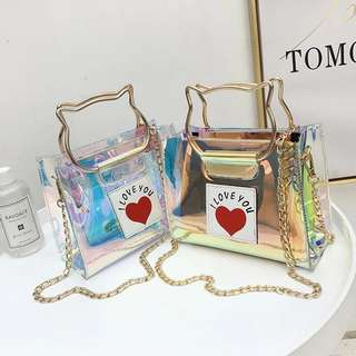 BN Holographic Sling Bag / Handbag