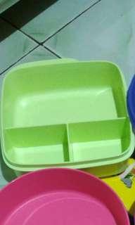Lolly tupperware hijau