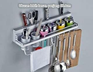 Rak dapur gantung aluminium