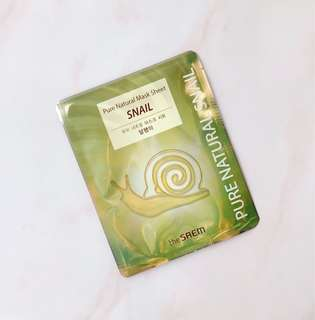 The Saem Snail Face Mask