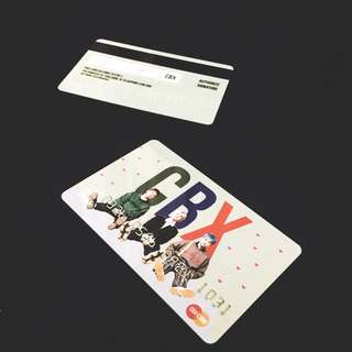 [READY STOCK] EXO-CBX LIMITED PVC CARD BY KYOONGBAEE