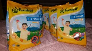 Susu Fearnlef 1-3 year (Madu) 6pax RM 110.00 only!! 1pax Rm20.00