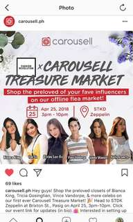 Carousell Treasure Market (See you there!)