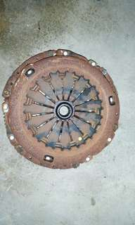 Clutch plate complete for throttle