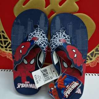 Marvel Spiderman Boys Flip Flop Sandals