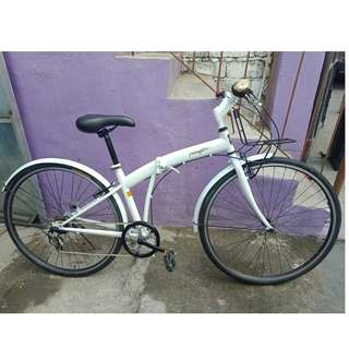 PANGAEA FOLDING ROADBIKE (FREE DELIVERY AND NEGOTIABLE!)
