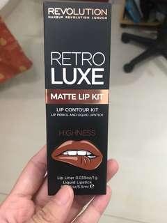 Makeup revolution lip kit