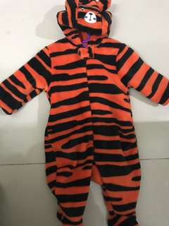 Mothercare Tiger Sleepsuit